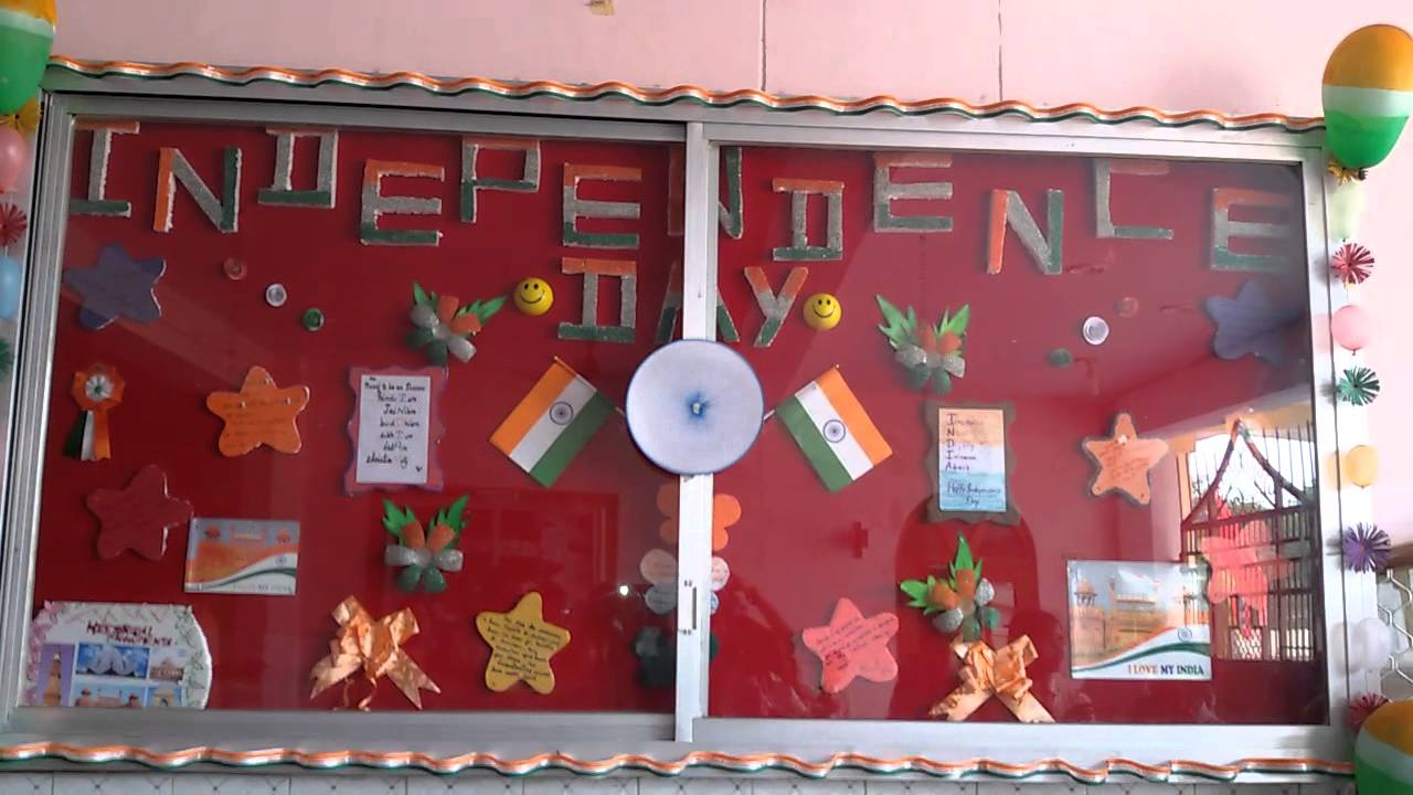 Board decoration ideas for republic day for Notice board decoration