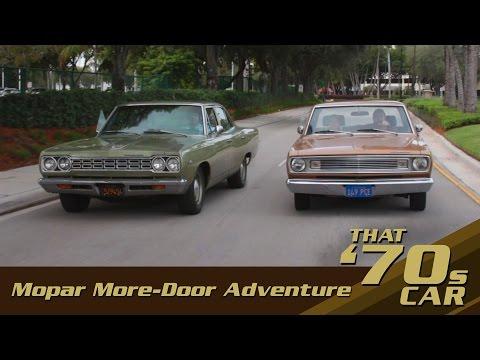 Mopar More-Door Adventure! | 1969 Valiant and 1968 Satellite Rescue | That '70s Car Episode #1