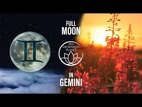 Gemini Full Moon - Supermoon Salutation, Chandra Namaskar