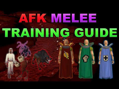 AFK Melee Training Guide 2019 [RuneScape 3]