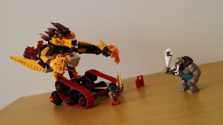 LEGO Legends Of Chima 70144 Lavals Fire LionОгненный Лев Лавала