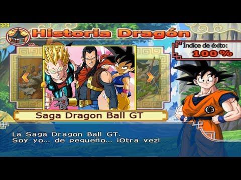 Vegeta GT, Goku and N°18  VS Super Android 17 Modo Historia GT - Dragon Ball Z Budokai Tenkaichi 4 |