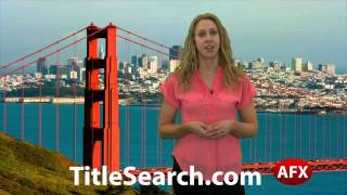 Property title records in Napa County California | AFX