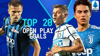 Top 20 Open Play Goals | Season 2019/20 | Serie A Extra | Serie A TIM