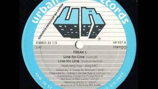 "Freak-L : ""Line For Line"" (Vocal) - Mixed By Paul C"