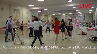 Muzica pentru nunti, cumetrii, botez ITALIA. Formatia DG Master tel. 3478261489, 340724364 ...