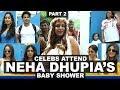 Celebs Attend Neha Dhupia's Baby Shower - 2 | Ahil Sharma, Jhanvi Kapoor, Ishaan Khattar, Sonakshi