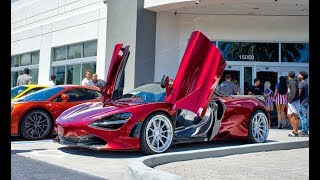 LOUDEST McLaren 720S Spider in Miami Insane Exhaust - Crackles and Pops Boopmobile in ACTION