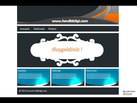 Sıfırdan Web Site Yapımı
