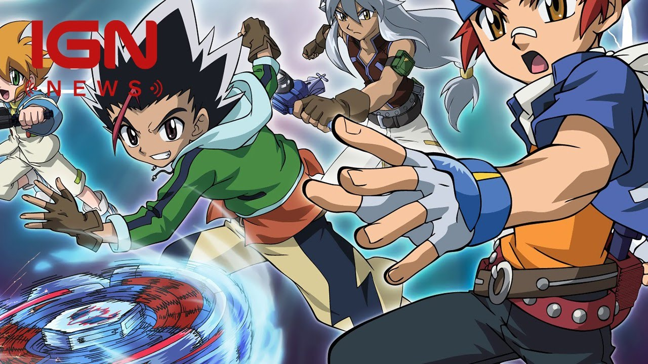 Hasbro Paramount Teaming Up For Live Action Beyblade Movie