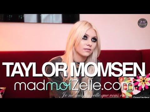 Taylor Momsen @ madmoiZelle.com