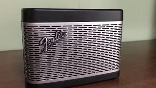 Fender ワイヤレススピーカー (Bluetooth対応)を買ったよ☆ 電源入れた時のギター音が最高だよ!ぜひ聞いてほしいです☆
