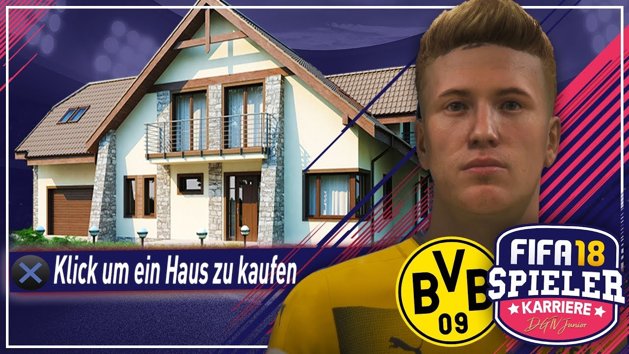 mein erstes eigenes haus fifa 18 spielerkarriere mit story 3 deutsch youtube. Black Bedroom Furniture Sets. Home Design Ideas