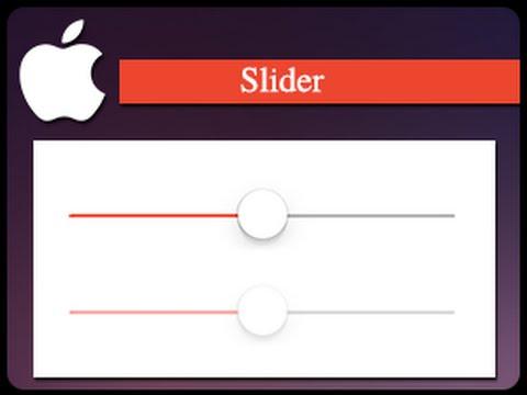 Lập trình iOS: Hướng dẫn Custom Slider
