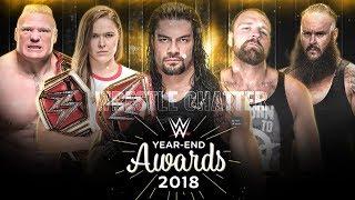 WWE Year End Awards 2018 ! WWE Slammy Award 2018 ! #WWEAwards #Roma...