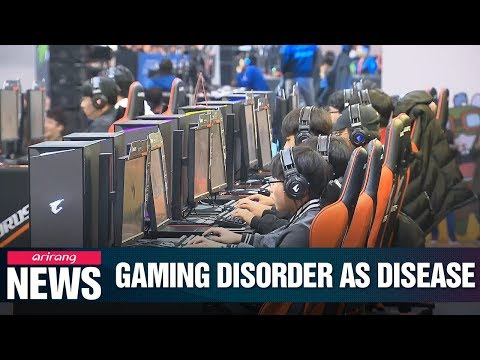 WHO decision to classify gaming addiction as mental health disease could cause medical