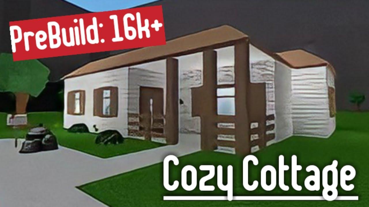 Building The Prebuild House Cozy Cottage Roblox