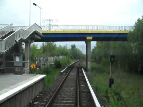Führerstandsmitfahrt S-Bahn Berlin Wartenberg - Friedrichsfelde Ost