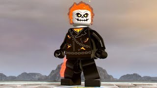 LEGO Marvel Super Heroes 2 - Ghost Rider - Open World Free Roam Gameplay (PC HD) [1080p60FPS]