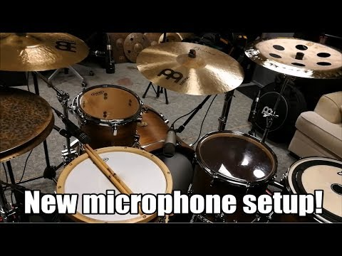 Microphone Setup - Finding My New Drum Sound - Part 2