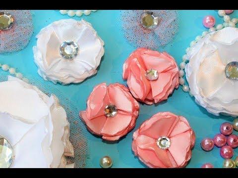 МК (часть 2) подушка для свадебных колец / DIY (Teil 2) Ringkissen nähen