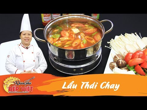 Cách nấu Lẩu Thái Chay chua cay ngon chuẩn vị | How to make Vegetarian Hot pot