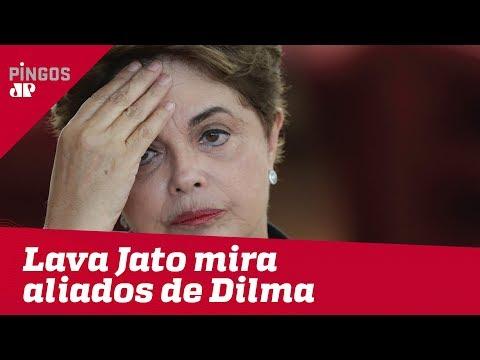 Lava Jato mira aliados de Dilma Rousseff