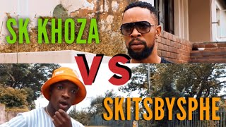 SK KHOZA vs SKITS BY SPHE compilation