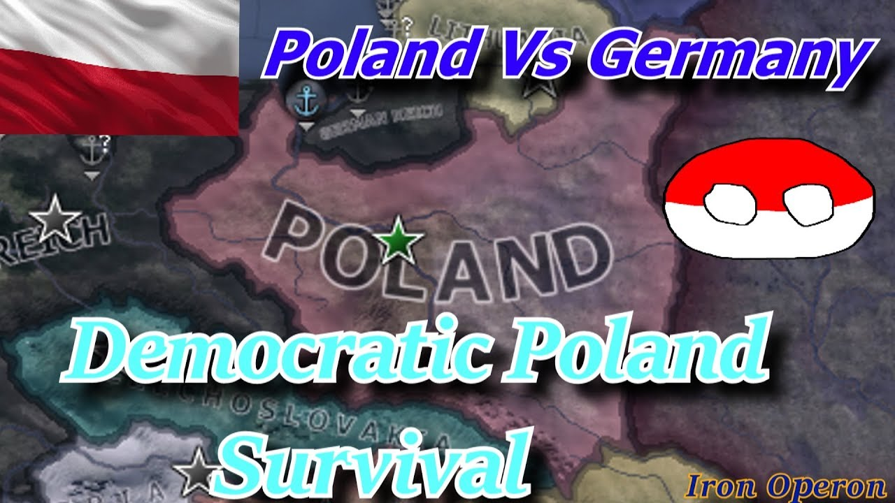 Hearts Of Iron 4 - Democratic Poland Challenge: Poland VS Germany!