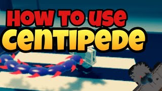 How to Use Centipede Kagune and PvP tips!! Ghouls Bloody Nights Roblox