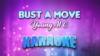 Young M C - Bust A Move (Karaoke version with Lyrics)