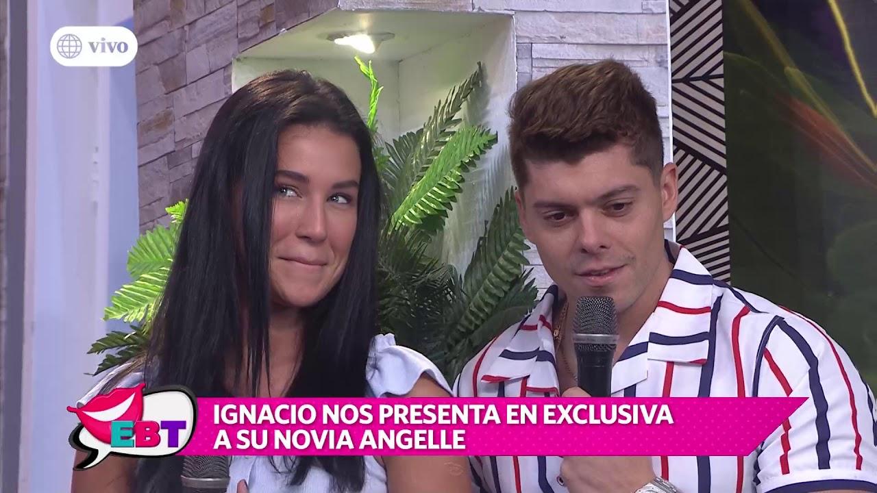 Ignacio Baladán: Angelle Folse confirmó romance con el modelo en vivo