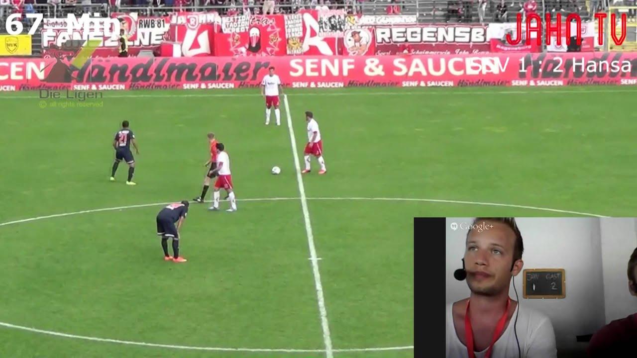 Jahn Regensburg Hansa Rostock Live