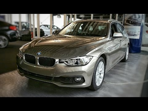 2015 bmw 318d touring 143 hp test drive by test drive freak. Black Bedroom Furniture Sets. Home Design Ideas