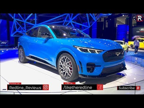 2021 Ford Mustang Mach E Redline First Look 2019 La Auto Show