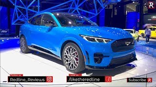2021 Ford Mustang Mach E - Redline: First Look - 2019 LA Auto Show