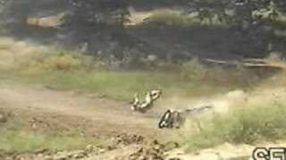 Motocross Crash SLOW MOTION Epic Wreck