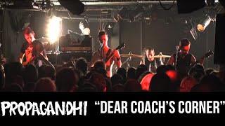 "PROPAGANDHI - ""Dear coach's corner"""
