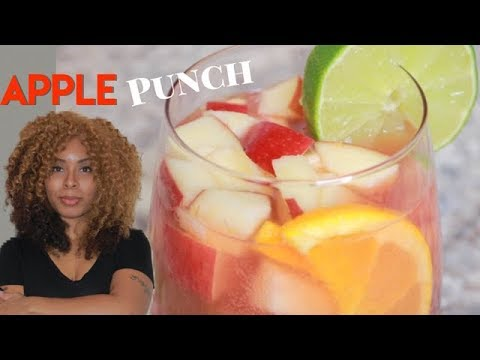 APPLE PUNCH | Super Easy Recipe (NEW)