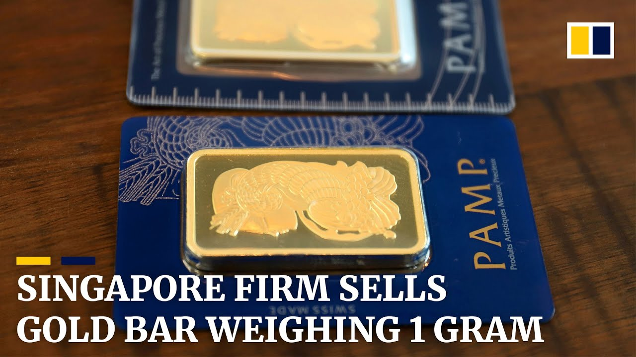 Singapore firm offers one-gram gold bar to attract 'ordinary' investors
