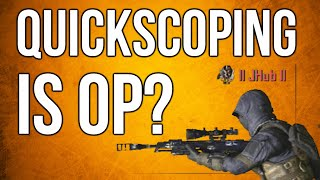 Black Ops 2 In Depth - Quickscoping is OP? Time To Kill Comparisons