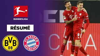 Résumé : Le Bayern remporte le Klassiker contre Dortmund