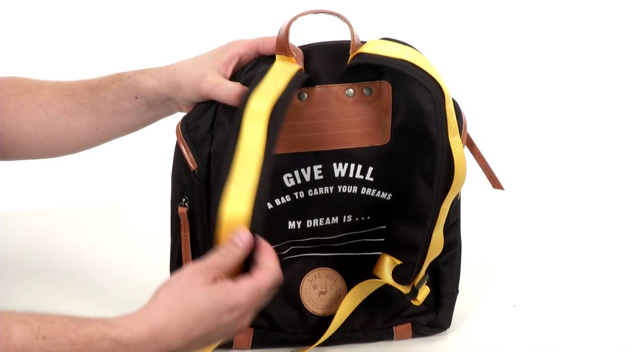 Will Leather Goods Give Will Small Backpack SKU  8387801 - YouTube 04cff0c386ed