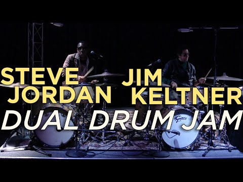 "Steve Jordan & Jim Keltner Jam at ""A Tribute to Al Jackson Jr."" Event - Memphis Drum Shop"