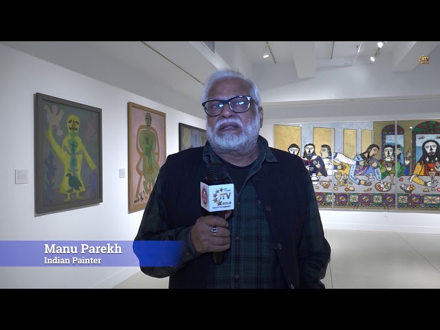 Renowned Artist Madhvi Parekh Inaugurates Delhi Arts Gallery DAG 2019 - New York City
