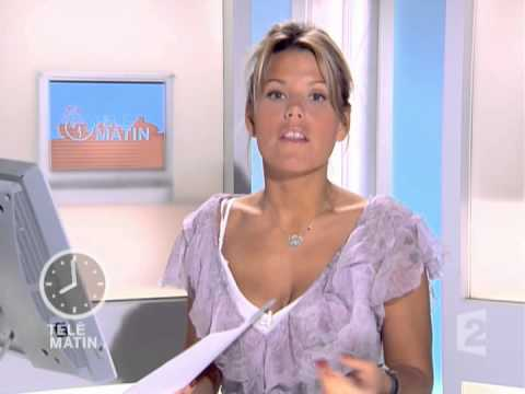 Laura tenoudji france 2 t l matin 13 07 2007 youtube - Telematin laura du web application ...