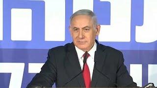 Netanyahu, à procura da sobrevivência política Video