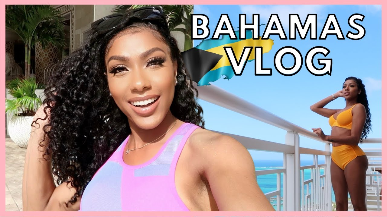TRAVEL WITH ME TO THE BAHAMAS   FLAMINGOS, BEACH DAY, & MY EXPERIENCE LEAVING THE COUNTRY RIGHT NOW