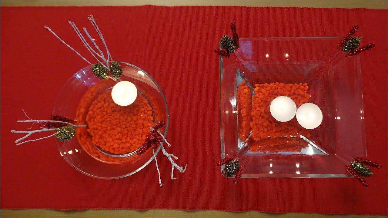 Diy come fare le candele galleggianti christmas edition youtube