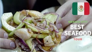 3 MUST-VISIT MEXICAN SEAFOOD SPOTS | MEXICO CITY !!